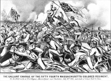 a discussion on the glory of the men fighting in the 54th regiment Glory: 54 th massachusetts volunteer infantry and civil war essay by the time the 54th infantry regiment headed off to training camp more than 1,000 men had volunteered these fighting men represented the first black professional.