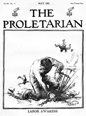 The Proletarian, edited by Dennis Batt.