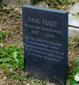 Gravestone_of_Paul_Foot_in_Highgate_Cemetery,_London