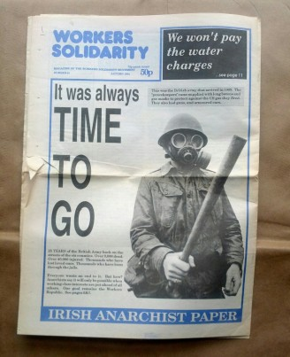 'Workers Solidarity', Workers Solidarity Movement, Ireland, 1994.