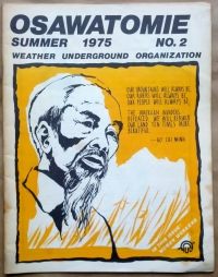 'Osawatomie', Weather Underground Organization, Red Dragon Press, United States, 1975.
