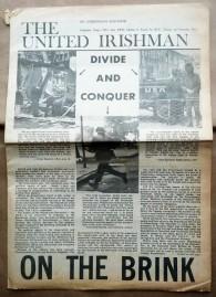 'The United Irishman', Official Irish Republican Movement, Dublin, 1972.
