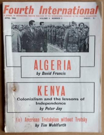 'Fourth International', International Committee of the Fourth International, London, 1966.