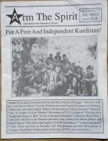 'For A Free And Independent Kurdistan' in 'Arm The Spirit - Autonomist/Anti-Imperialist Journal', Hamilton, Ontario, 1992.